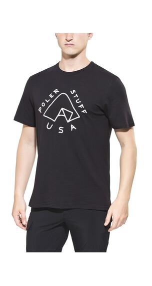 POLER Tent T-Shirt Men black